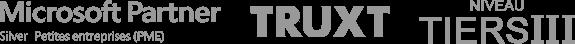 Microsoft Partner Silver PME - Truxt - Niveau Tiers III