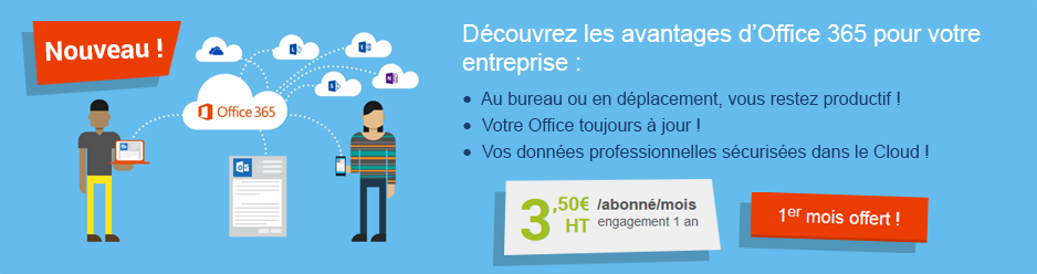 Découvrez les avantages d'Office 365 pour votre entreprise