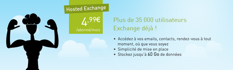 Découvrir Hosted Exchange