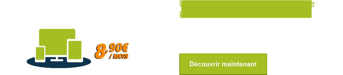 Découvrez l'hébergement web